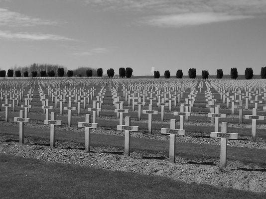 Soldatenfriedhof in Verdun (Frankreich)