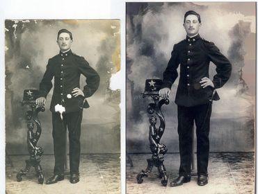 Restauri di vecchie fotografie