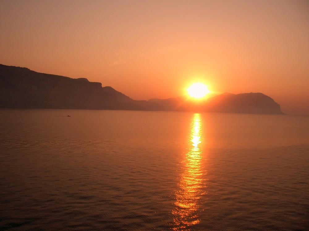 Sole, mare e cielo...