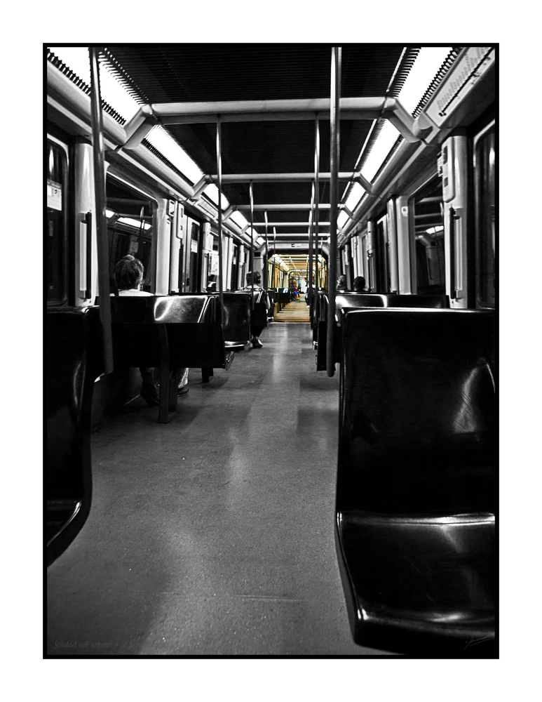 Soledad sub urbana 5 al final del tunel