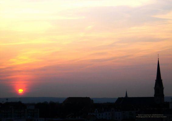 Soleil au couleur de Mars (18 03 2015)