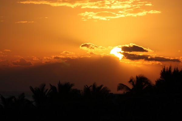 soleil levant au Méxique