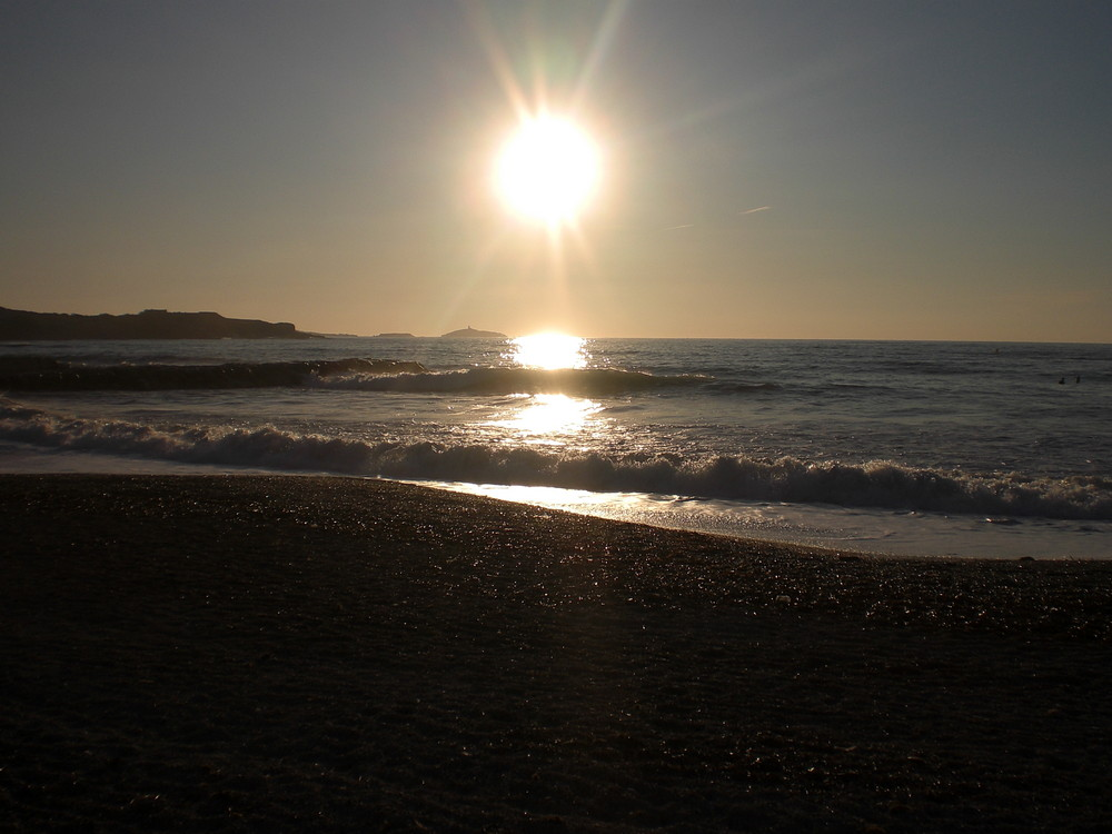 soleil mer