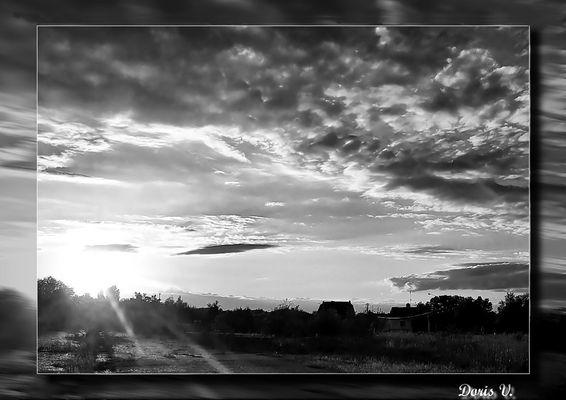 soleil noir... et blanc