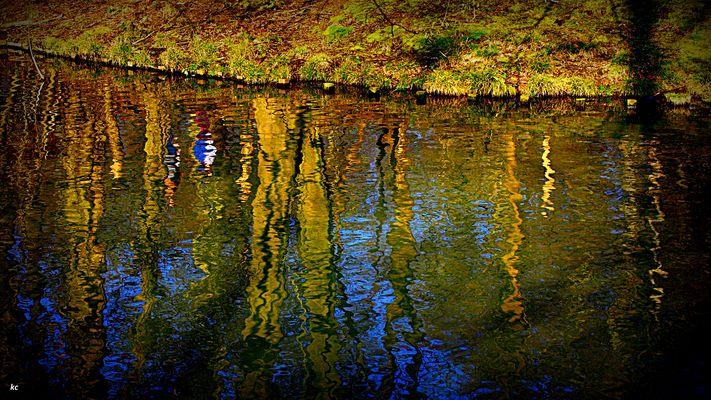 Soleil sur la Garonne .....