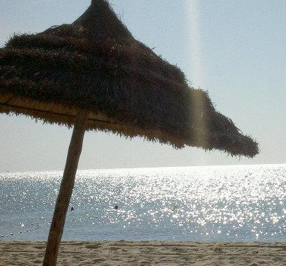 soleil sur la plage