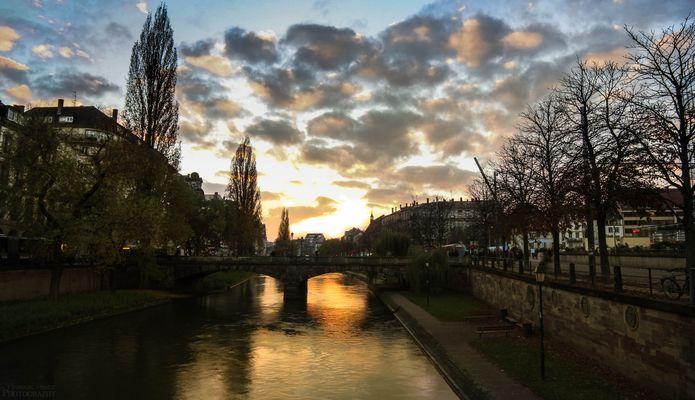 Soleil sur Strasbourg