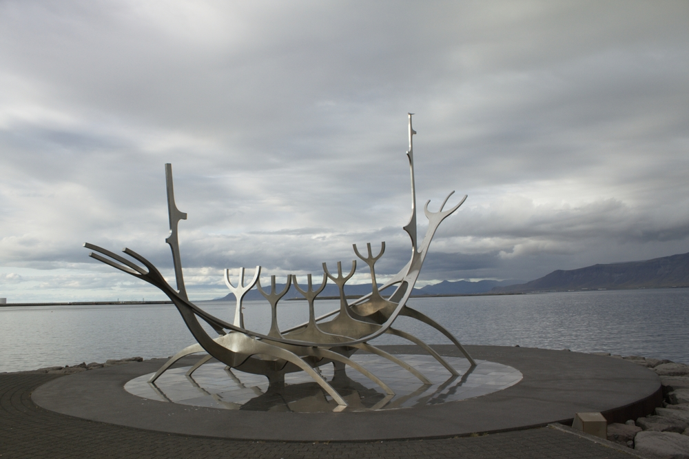 Sólfar - Das Sonnenschiff in Reykjavík
