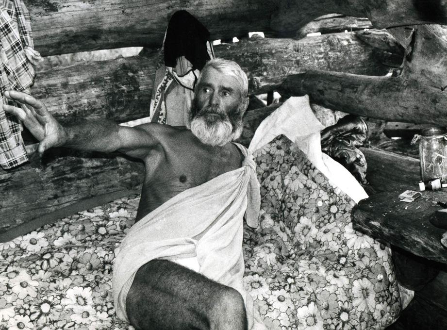 Solitaire Julien dans son ermitage