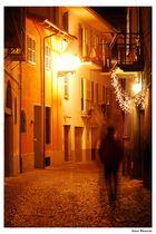 solitario nella notte....
