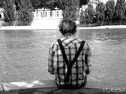Solitude des Bords de Seine...