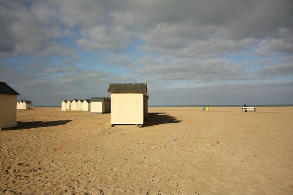 Solitude sur la plage