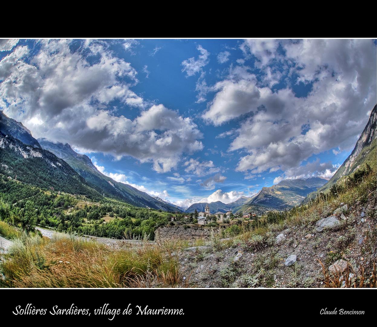 Sollières Sardières, village de Maurienne.
