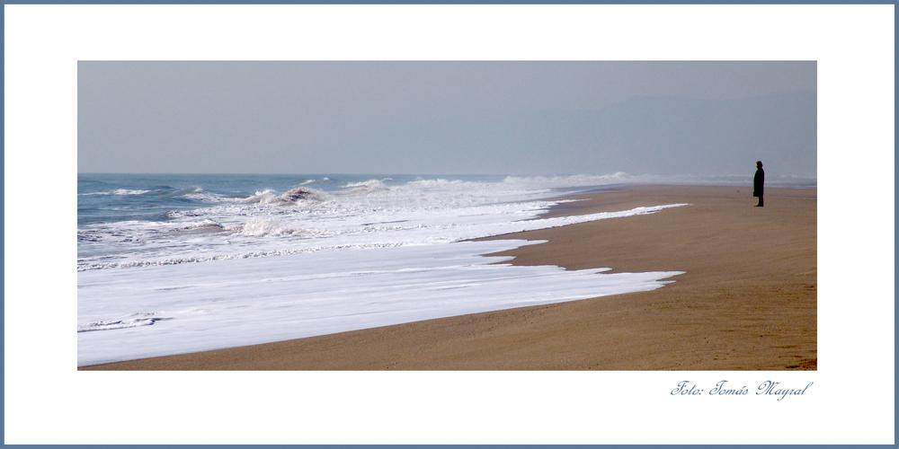 Solo frente al Mar