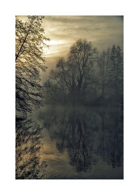 ..solo silenzio sul grande fiume ..