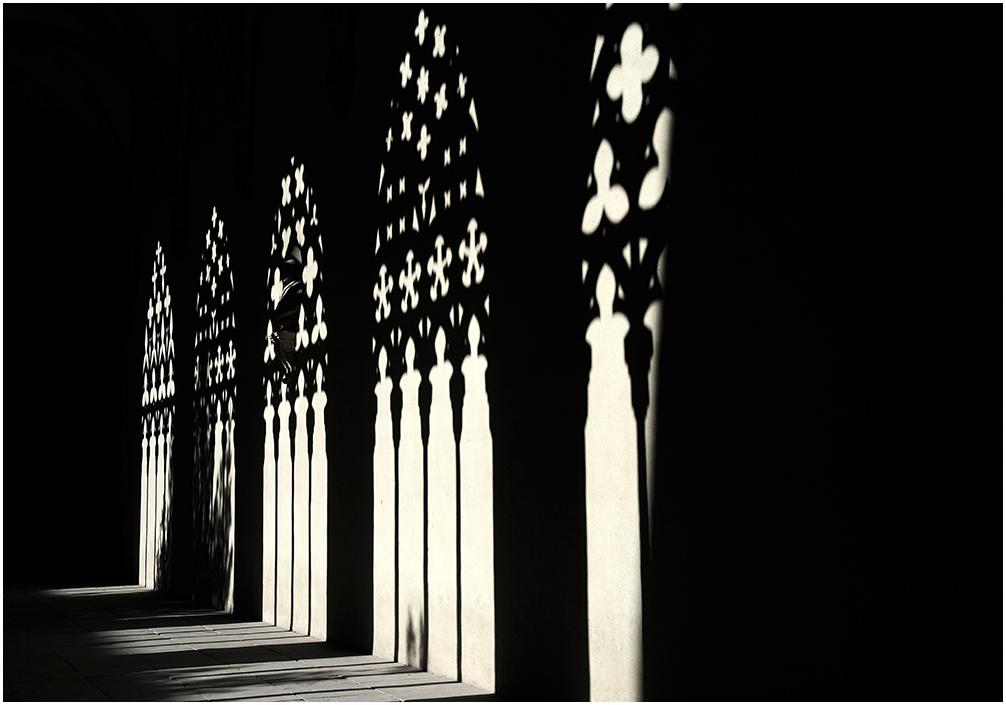 Sombras en el claustro