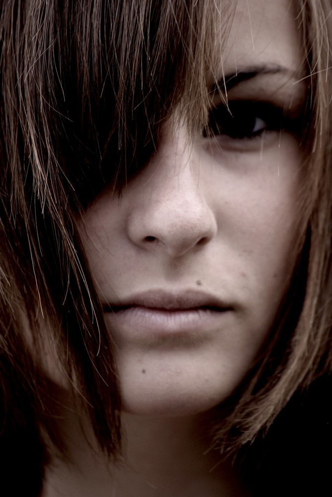Sombre portrait