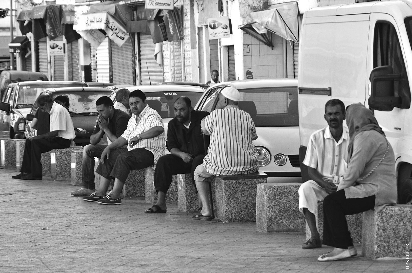 Some days ago in Tunis, ...waiting for Godot II.