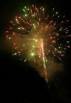 some fireworks