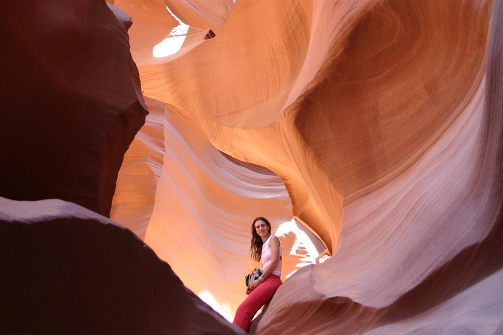 Some rest in Antelope Canyon - Arizona (USA)