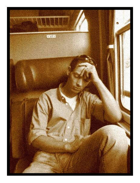Some stranger on the train