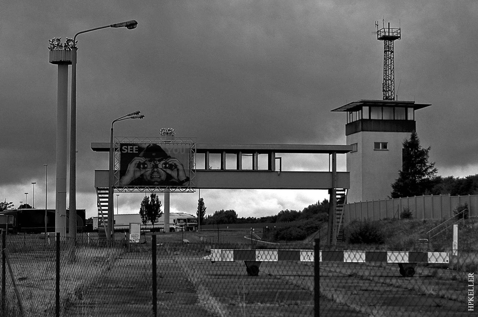 Some years ago, ...Memorial DDR Grenzübergang-Marienborn