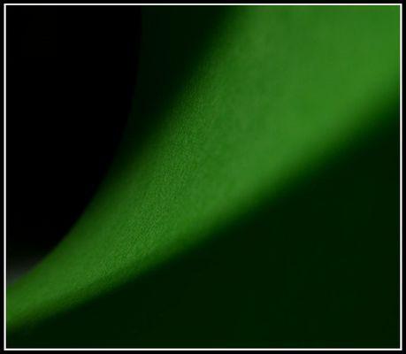 something in green