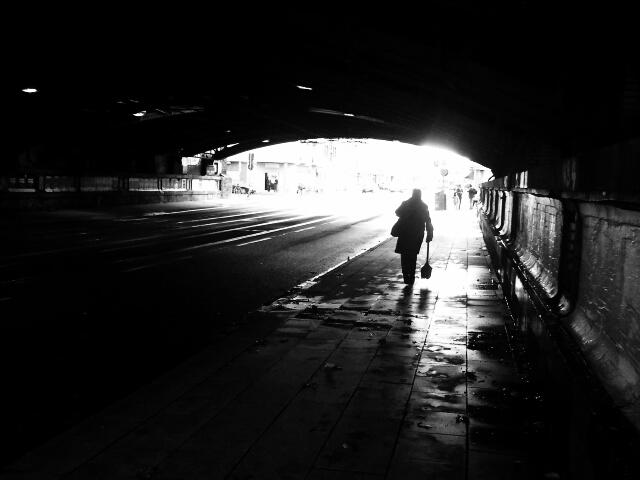 somewhere in the dark...
