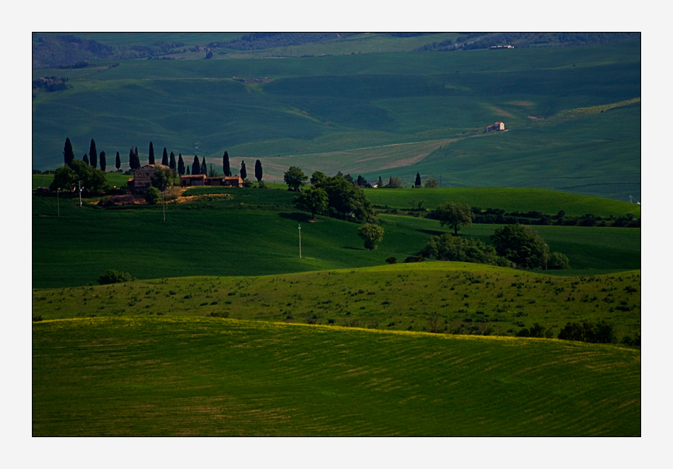 somewhere in Tuscany