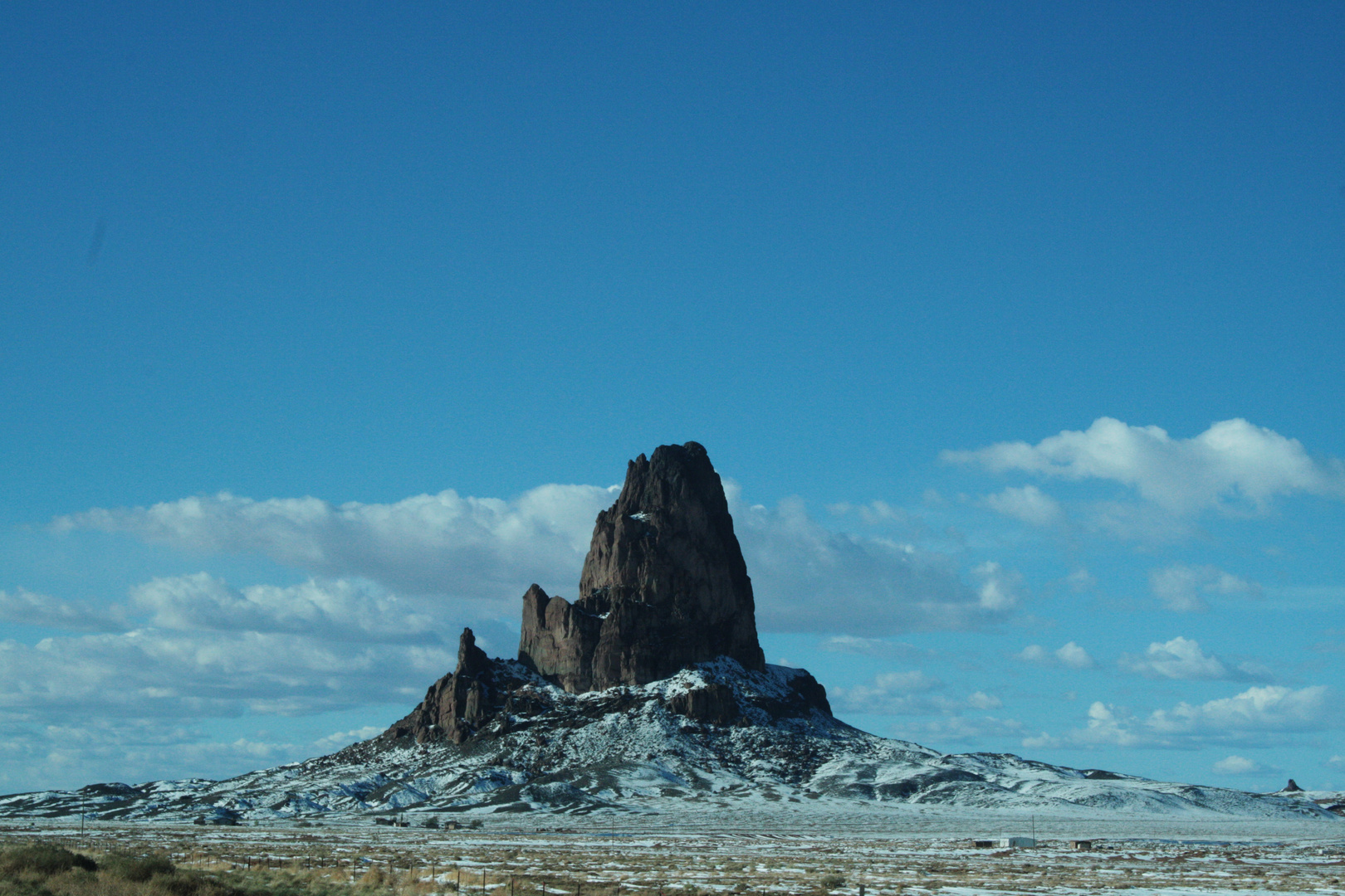 Somewhere on the road to Monument Valley