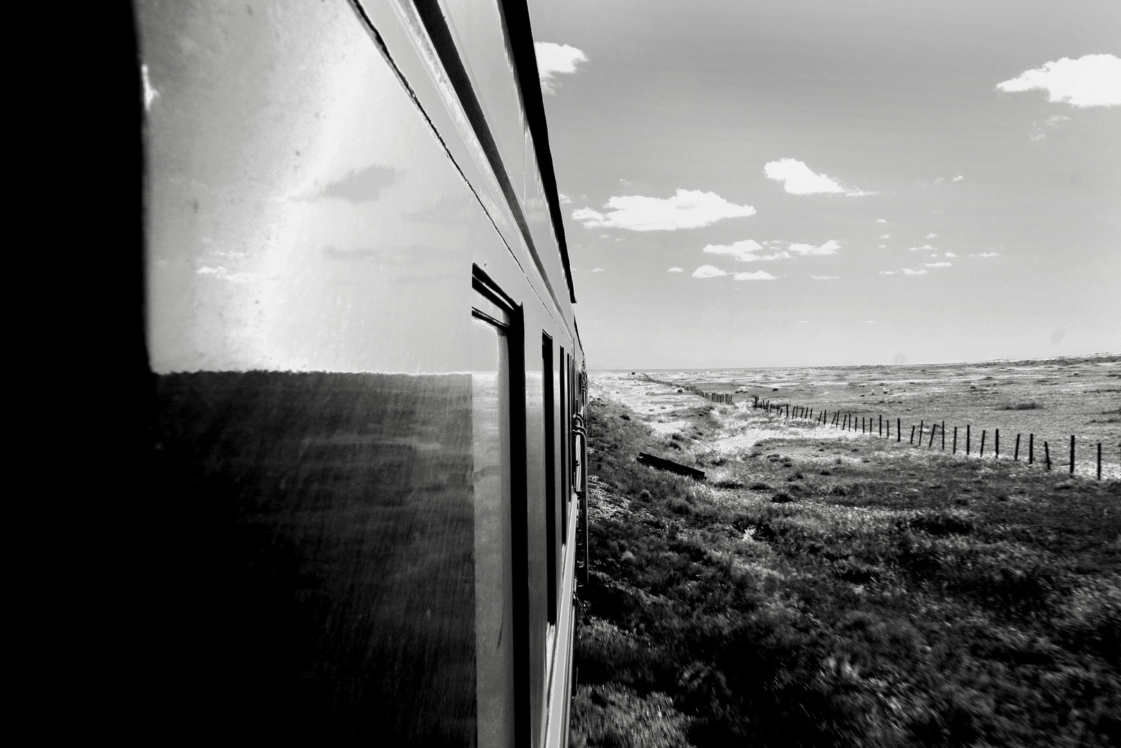 Somewhere on the Train