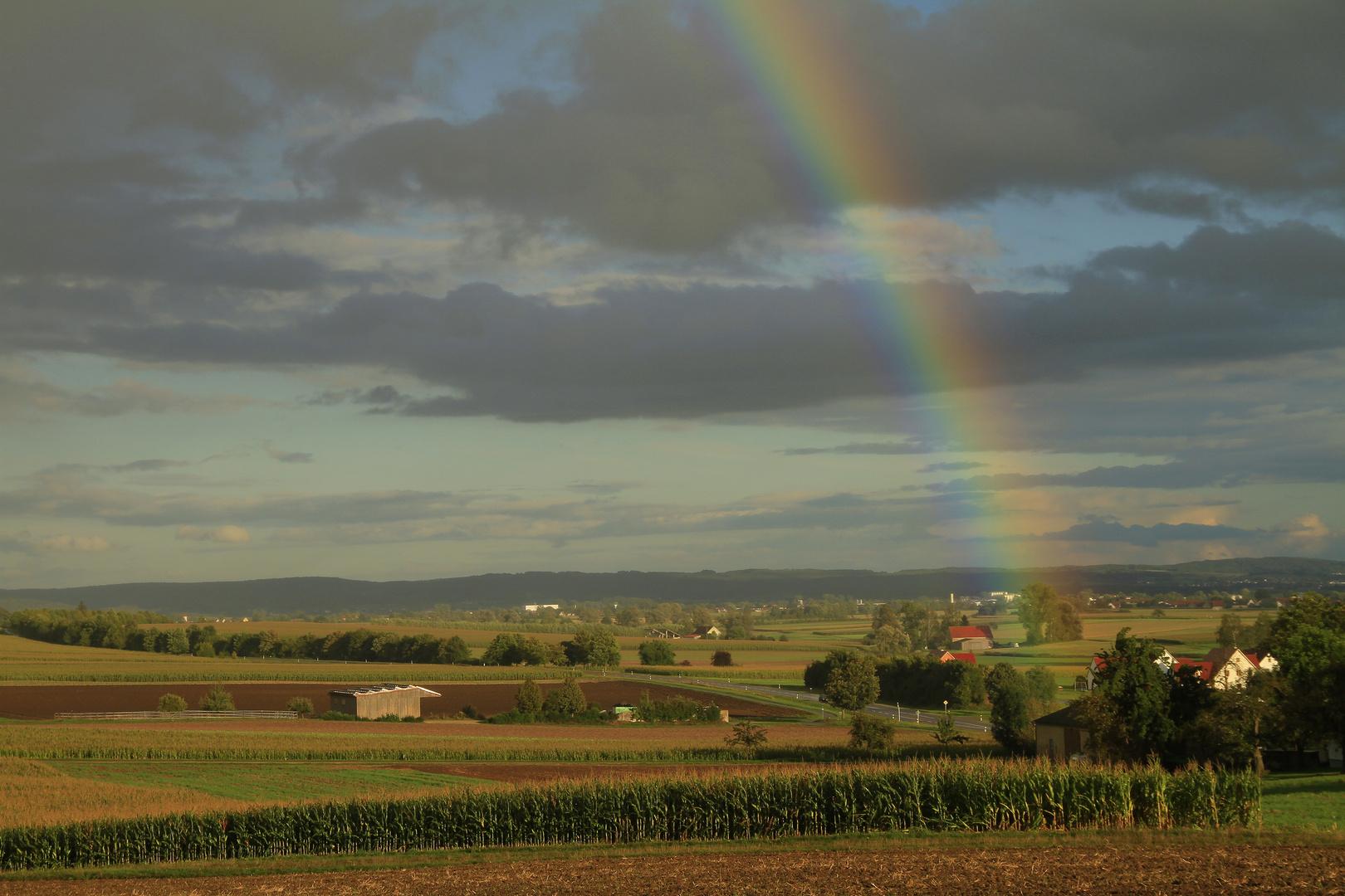 Somewhere over the rainbow........
