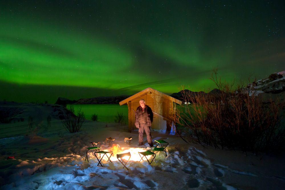 Sommaroy Nord Norwegen