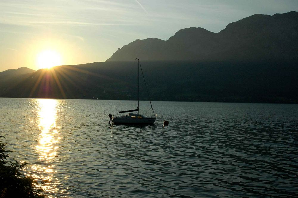 Sommer 2005 am Attersee...