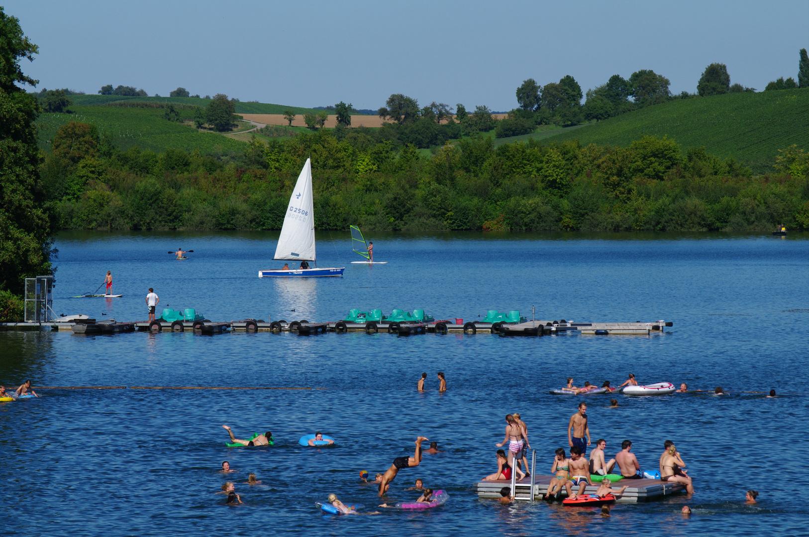 Sommer am Breitenauer See
