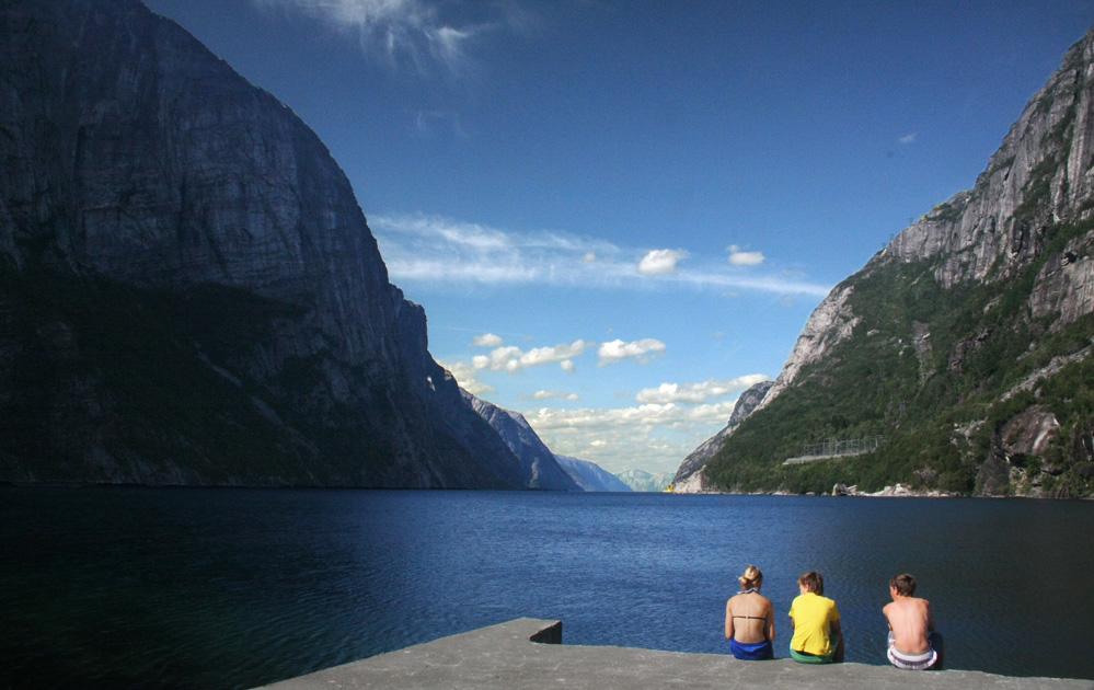 Sommer am Lysefjord