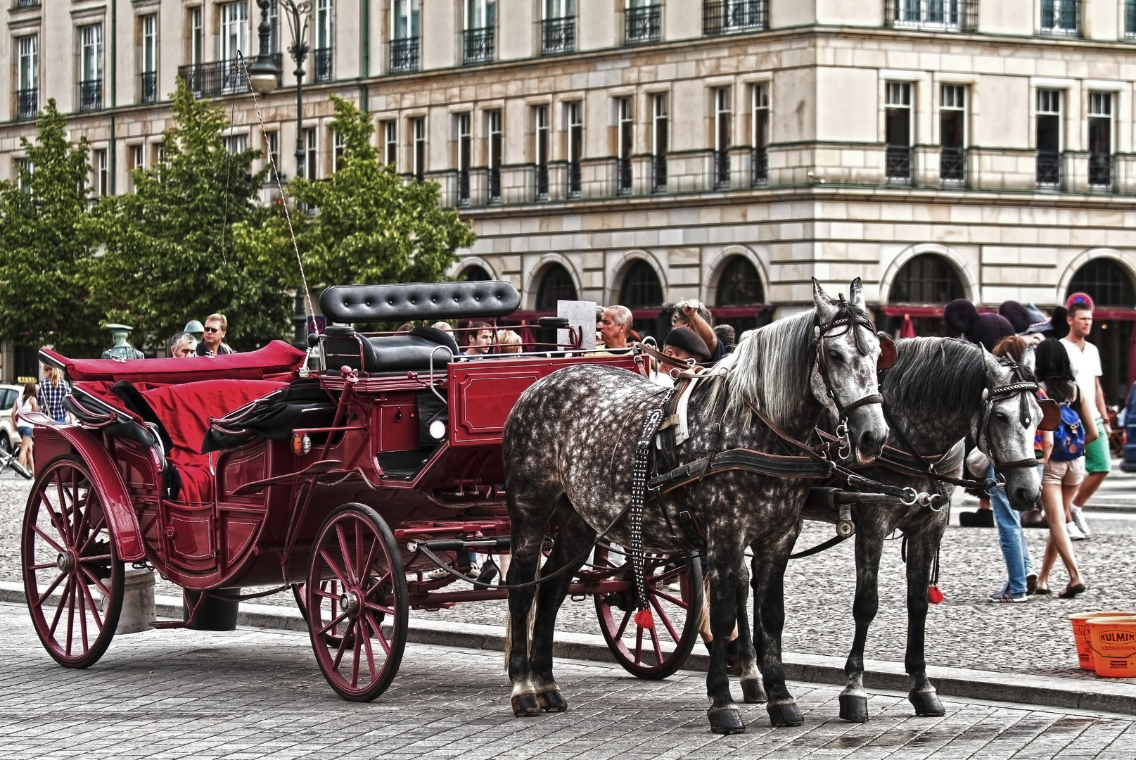 Sommer am Pariser Platz