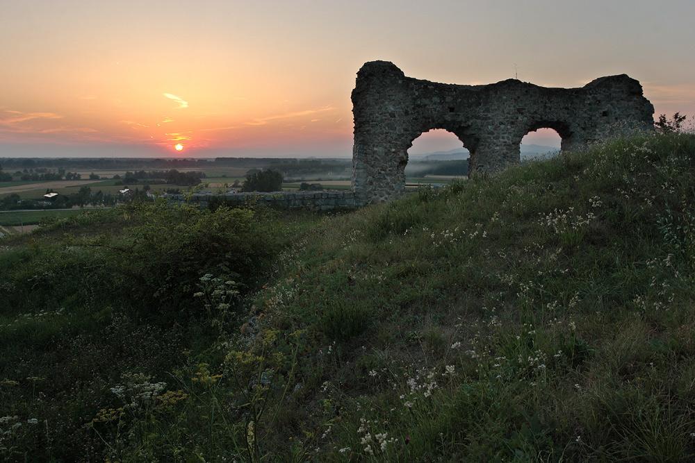 Sommer auf der Burg