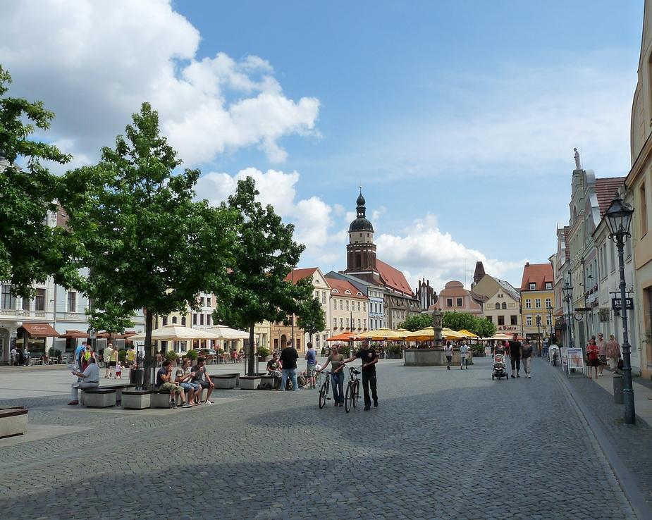 Sommer in Cottbus