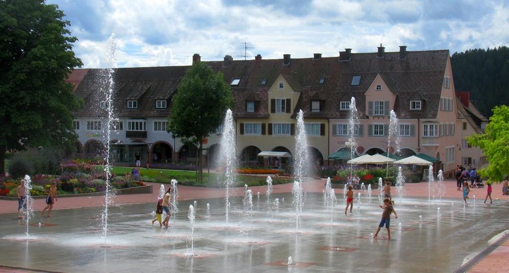 Sommer in Freudenstadt