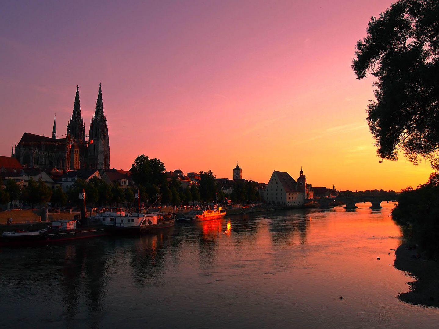 Sommer in Regensburg