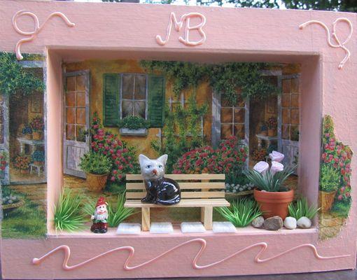 SOMMER - Katze im Garten