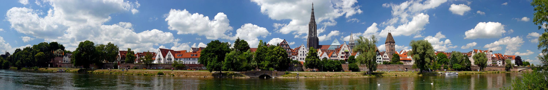 Sommer Panorama Ulm