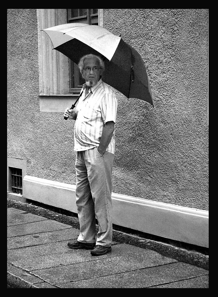 Sommer-Regen-Tag