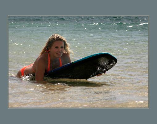 Sommer, Sonne, Sand und Meer