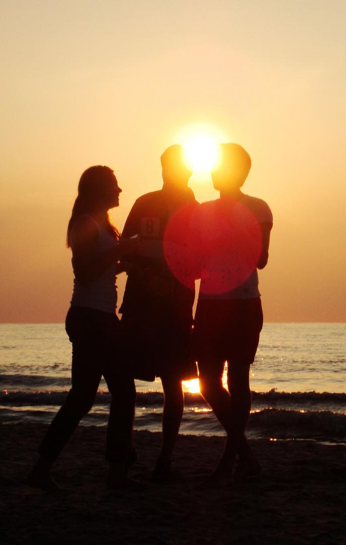 Sommer, Strand und Sonne