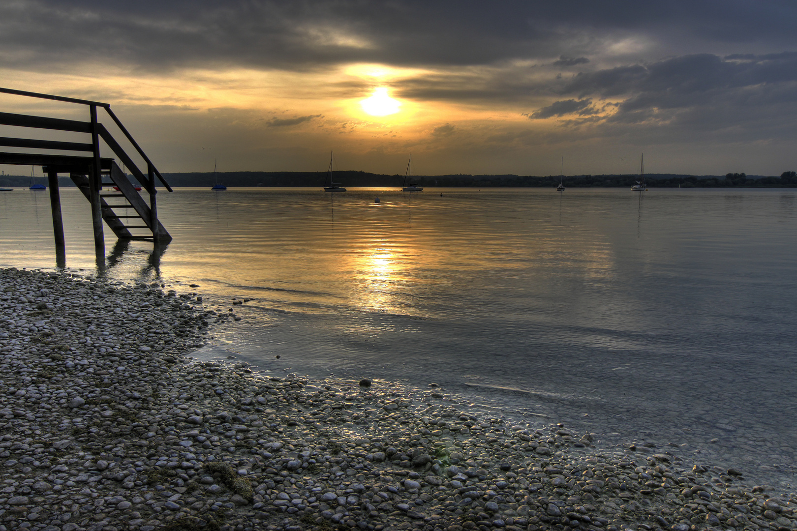 Sommerabend am Ammersee