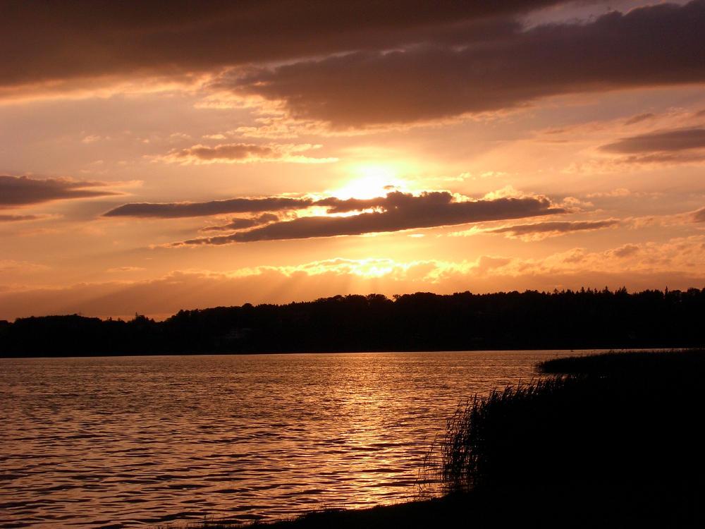 Sommerabend am Simssee