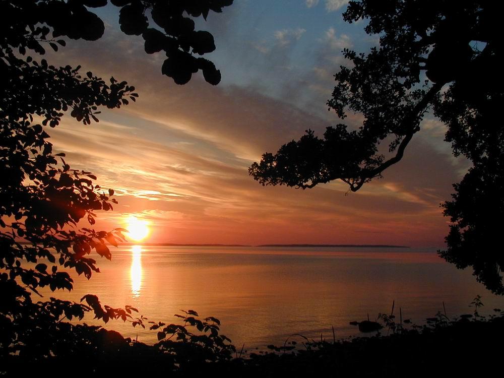 Sommerabend am Vänernsee