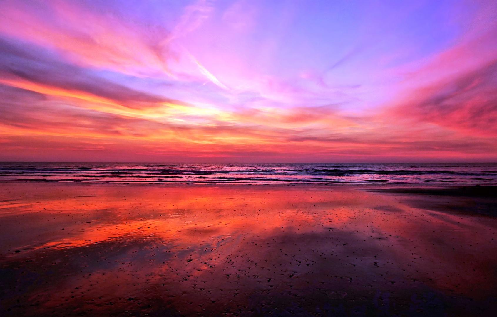 Sommerabend an der Nordsee